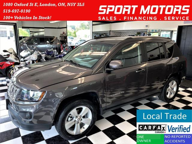 2015 Jeep Compass NORTH 4x4+HeatedSeats+New Tires+Brakes+CLEANCARFAX
