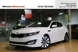 Used 2012 Kia Optima SX T-GDI - LEATHER|PANOROOF|BACKUP|NAVIGATION for sale in North York, ON