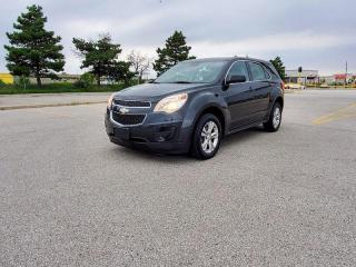 Used 2013 Chevrolet Equinox NO ACCIDENT, ONE OWNER, CERTIFIED for sale in Mississauga, ON