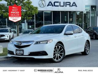 Used 2015 Acura TLX 3.5L SH-AWD w/Tech Pkg for sale in Markham, ON