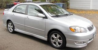 Used 2006 Toyota Corolla XRS - Just Arrived for sale in Brandon, MB