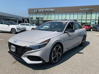 New 2022 Hyundai Elantra FWD NLINE for sale in Port Coquitlam, BC