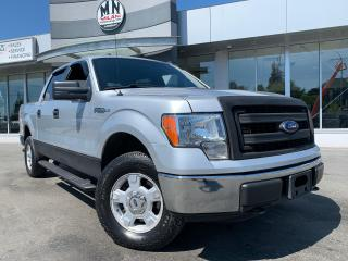 Used 2013 Ford F-150 XLT 4WD CREW SB 5.0L V8 ONLY 128KM for sale in Langley, BC