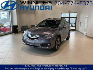 Used 2018 Acura RDX ELITE - AWD, Heated and cooled front seats, Power moonroof for sale in Winnipeg, MB