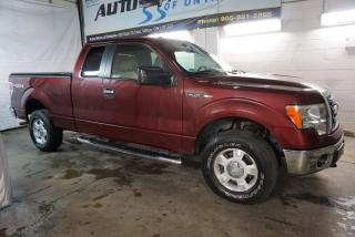 Used 2010 Ford F-150 5.4L XLT PREMUIM 4X4 CERTIFIED 2YR WARRANTY *FREE ACCIDENT* CRUISE ALLOYS BED COVER for sale in Milton, ON