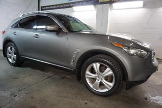 Used 2011 Infiniti FX 35 AWD LUXURY NAVI 360 CAMERA CERTIFIED 2YR WARRANTY *FREE ACCIDENT* HEATED MEMORY LEATHER SUNROOF BLUETOOTH for sale in Milton, ON