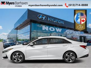 New 2021 Hyundai Elantra Ultimate  Tech IVT  - Leather Seats - $193 B/W for sale in Nepean, ON
