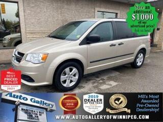 Used 2014 Dodge Grand Caravan SE* Rear Heat/SXM/Bluetooth/7 SEATER for sale in Winnipeg, MB