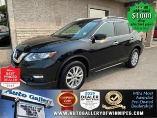 Used 2017 Nissan Rogue SV* AWD/Panoramic Roof/REMOTE STARTER for sale in Winnipeg, MB