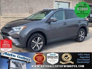 Used 2018 Toyota RAV4 LE* AWD/Bluetooth/Reverse Camera for sale in Winnipeg, MB