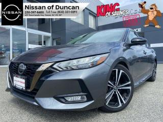Used 2020 Nissan Sentra SR for sale in Duncan, BC