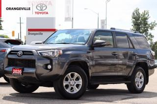 Used 2020 Toyota 4Runner ONLY 17750KM!! 4WD, ONE OWNER, CLEAN CARFAX, HEATED SEATS, SUNROOF, ADAPTIVE CRUISE CONTROL, 7 SEATS for sale in Orangeville, ON