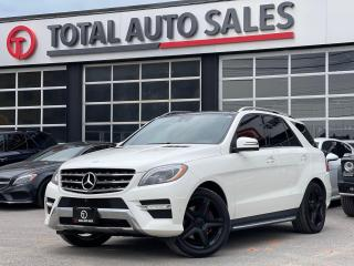 Used 2014 Mercedes-Benz M-Class //AMG   REAR ENTERTAINMENT   PREMIUM for sale in North York, ON