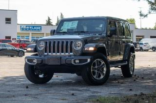New 2021 Jeep Wrangler SAHARA | NAV | LEATHER for sale in Waterloo, ON