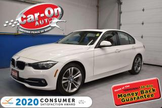 Used 2016 BMW 320i xDrive | SPORT LINE | RED LEATHER | 18 ALLOYS for sale in Ottawa, ON