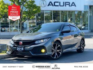 Used 2018 Honda Civic Sport Hatchback 6MT for sale in Markham, ON