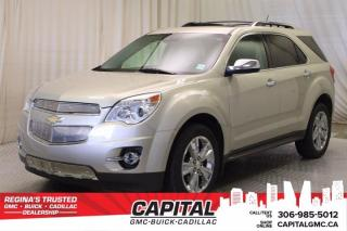 Used 2014 Chevrolet Equinox LTZ AWD*LEATHER*SUNROOF* for sale in Regina, SK