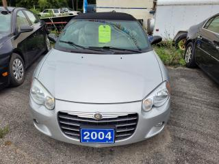 Used 2004 Chrysler Sebring Limited  for sale in Oshawa, ON