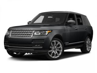 Used 2016 Land Rover Range Rover SC SOLD-Check the Sports for sale in Winnipeg, MB