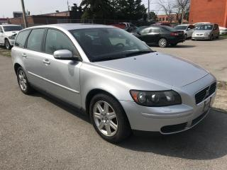 Used 2007 Volvo V50 WAGON,185KM,ALLOYS,AMAZING DRIVE,$4300,SAFETY$490 for sale in Toronto, ON