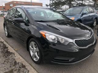 Used 2016 Kia Forte 86KM,$7900,ALLOYS,AUX,USB,SAFETY $490 EXTRA for sale in Toronto, ON