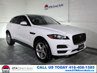 Used 2018 Jaguar F-PACE Premium AWD Nav PanoRoof Camera Heated Certified for sale in Toronto, ON