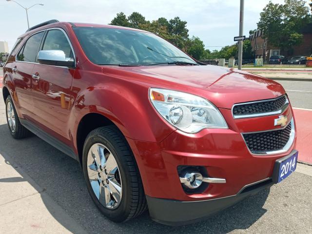 2014 Chevrolet Equinox LT-LEATHER-BK UP CAM-BLUETOOTH-AUX-USB-ALLOYS