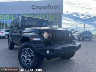 New 2021 Jeep Wrangler Unlimited Sport S for sale in Calgary, AB