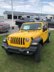 New 2021 Jeep Wrangler Unlimited Sport S for sale in Petrolia, ON