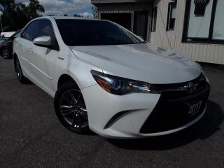 Used 2017 Toyota Camry HYBRID SE - BACK-UP CAM! HEATED SEATS! REMOTE START! for sale in Kitchener, ON