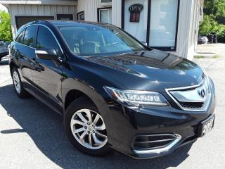 Used 2017 Acura RDX 6-Spd AT AWD w/ Technology Package - LEATHER! NAV! BACK-UP CAM! BSM! for sale in Kitchener, ON