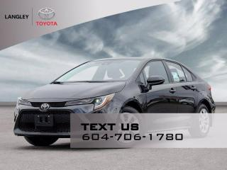 New 2021 Toyota Corolla LE for sale in Langley, BC