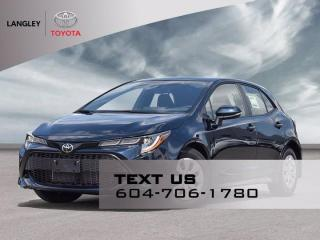 New 2021 Toyota Corolla Hatchback for sale in Langley, BC