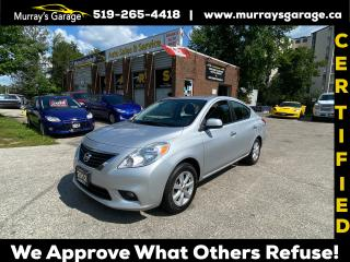 Used 2012 Nissan Versa SV for sale in Guelph, ON