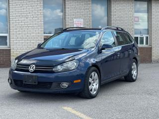 Used 2013 Volkswagen Golf Wagon TDI  Panoramic Sunroof/Leather/Loaded for sale in North York, ON