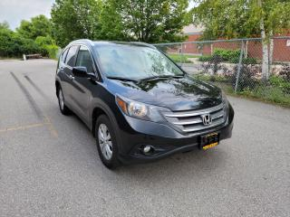 Used 2012 Honda CR-V TOURING AWD w/NAVI/B.CAM/LEATHER & SUNROOF for sale in North York, ON