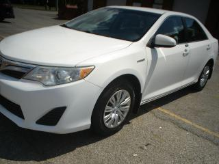 Used 2014 Toyota Camry HYBRID,AUTO,ACCIDENT FREE for sale in Mississauga, ON