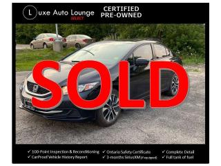 Used 2015 Honda Civic EX - AUTO, SUNROOF, HEATED SEATS, BACK-UP CAMERA! for sale in Orleans, ON