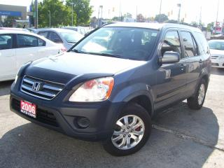 Used 2006 Honda CR-V EX,AWD,AUTO,A/C,KEY LESS,CERTIFIED,TINTED for sale in Kitchener, ON
