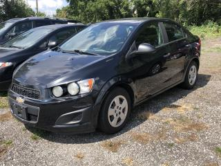 Used 2013 Chevrolet Sonic LT for sale in Cambridge, ON