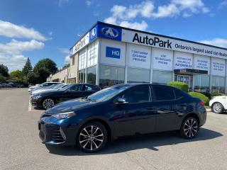Used 2018 Toyota Corolla XSE | SUNROOF | NAV | LEATHER SEATS | REAR CAMERA | for sale in Brampton, ON