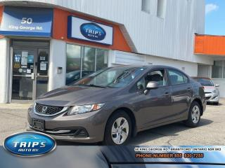 Used 2013 Honda Civic LX / LOW, LOW KMS/PRICED-QUICK for sale in Brantford, ON