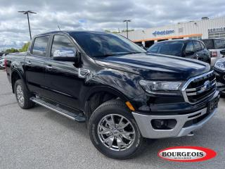 Used 2020 Ford Ranger Lariat LEATHER HEATED SEATS, REVERSE CAMERA for sale in Midland, ON