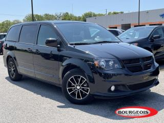 Used 2017 Dodge Grand Caravan GT LEATHER HEATED SEATS, REVERSE CAMERA for sale in Midland, ON