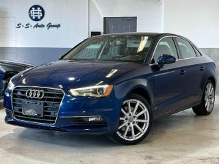 Used 2015 Audi A3 2.0T AWD TECHNIK|NAV|BSM|PARKING AID|ACCIDENT FREE for sale in Oakville, ON
