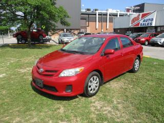 Used 2011 Toyota Corolla CE ~ PWR WINDOWS ~ AUX ~ SAFETY INCLUDED for sale in Toronto, ON