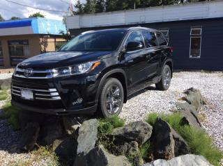 Used 2017 Toyota Highlander Hybrid LIMITED for sale in Parksville, BC