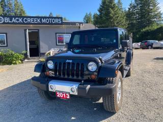 Used 2013 Jeep Wrangler Sahara for sale in Black Creek, BC