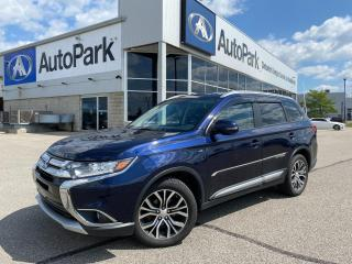 Used 2016 Mitsubishi Outlander | HEATED SEATS | SUNROOF | BLUETOOTH | BACKUP CAMERA | for sale in Innisfil, ON