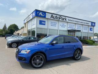 Used 2017 Audi Q5 2.0T Technik NAV | PANORAMIC ROOF | MEMORY SEAT | LEATHER SEATS | for sale in Brampton, ON